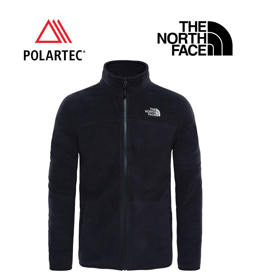 The North Face 100 Glacier Full Zip Erkek Polar T92Uaqjk3