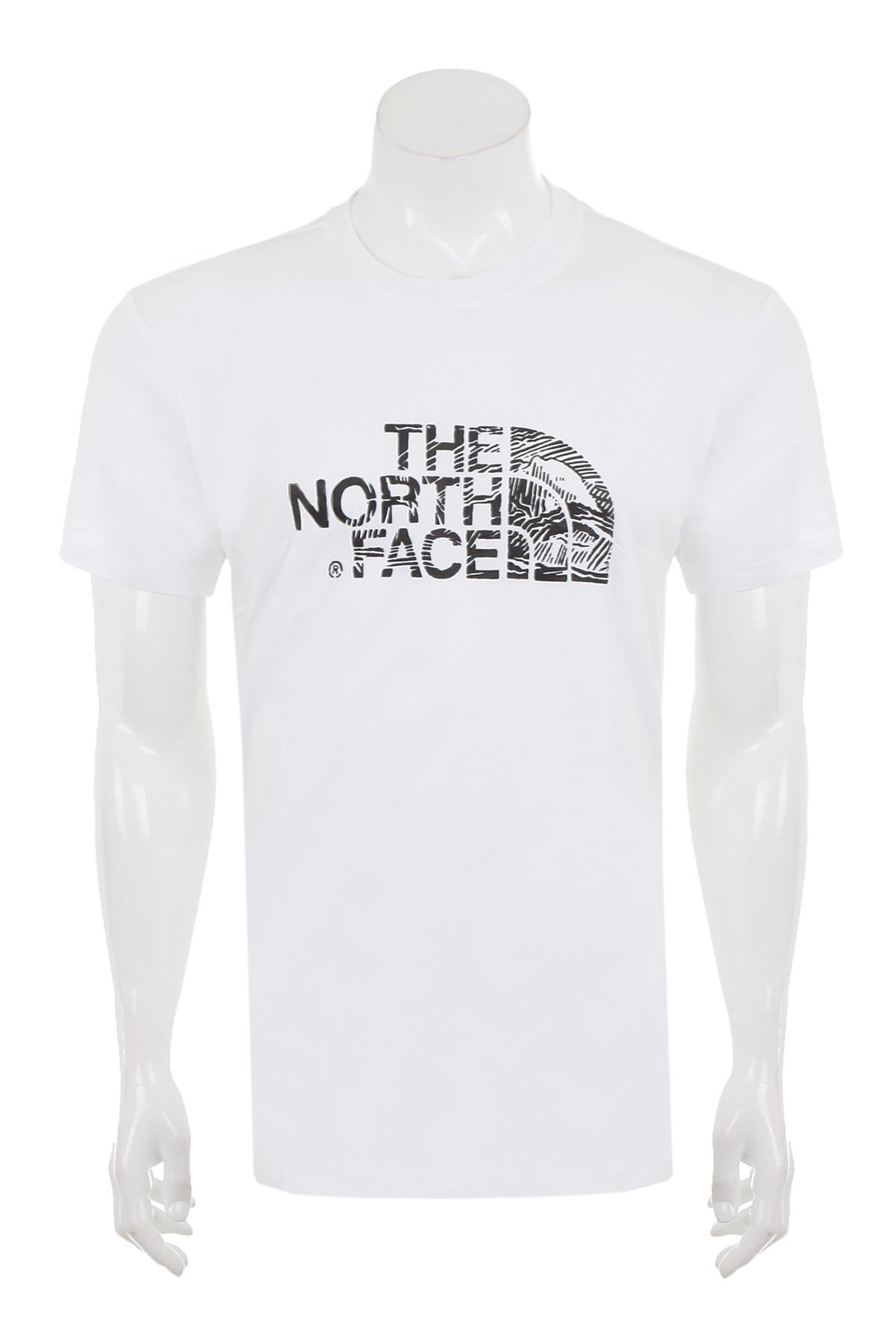 The Northface Erkek S/S Woodcut Dome Tee-Eu T0A3G1M4Q Tişört