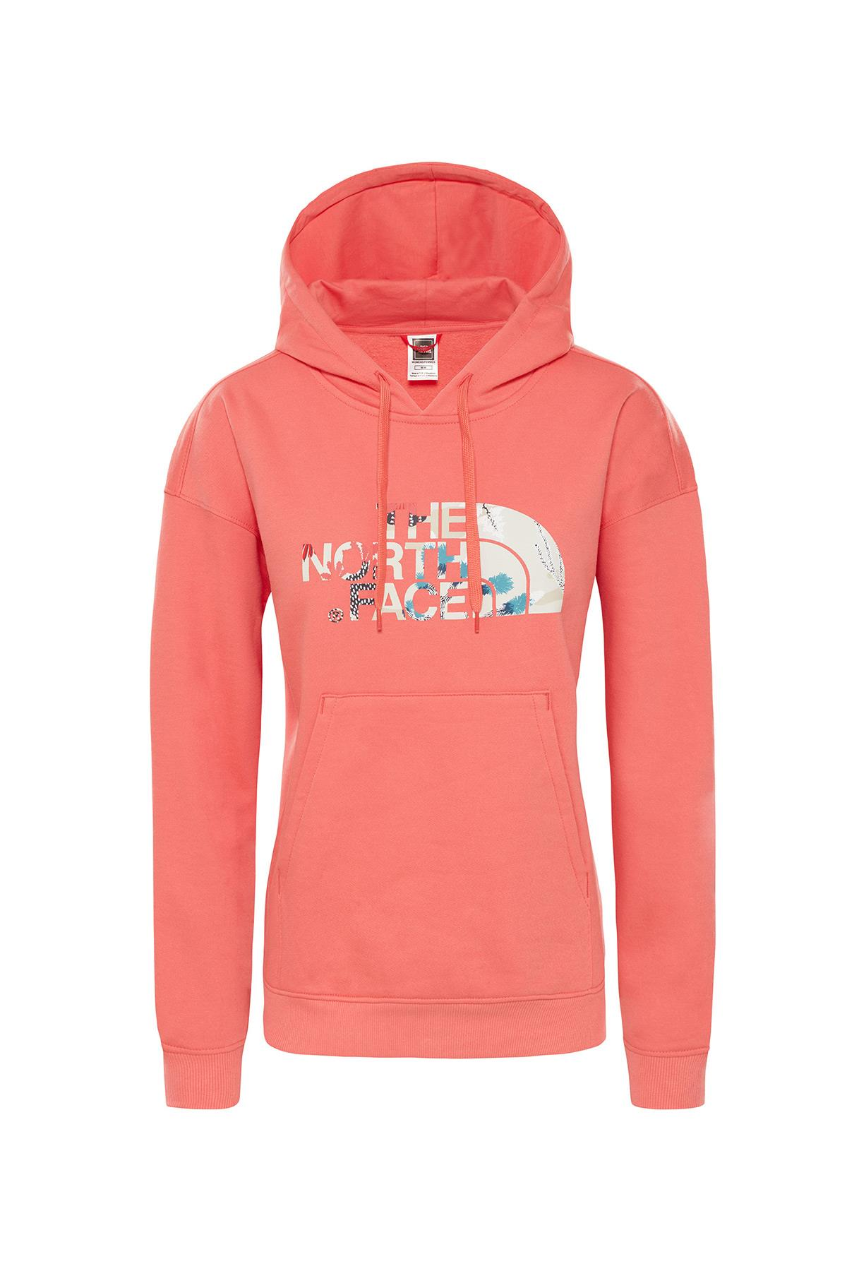 The Northface Kadın Light Drew Peak Hoodie-Eu T93Rz4Hey Sweatshirt