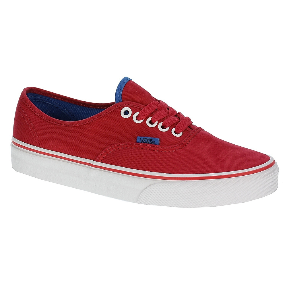 Vans Authentic Kırmızı Mavi Unisex Ayakkabı Vvoebyq