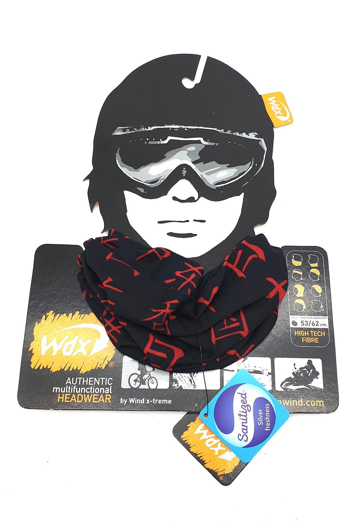 Wind Pekin Black Bandana Wd1126